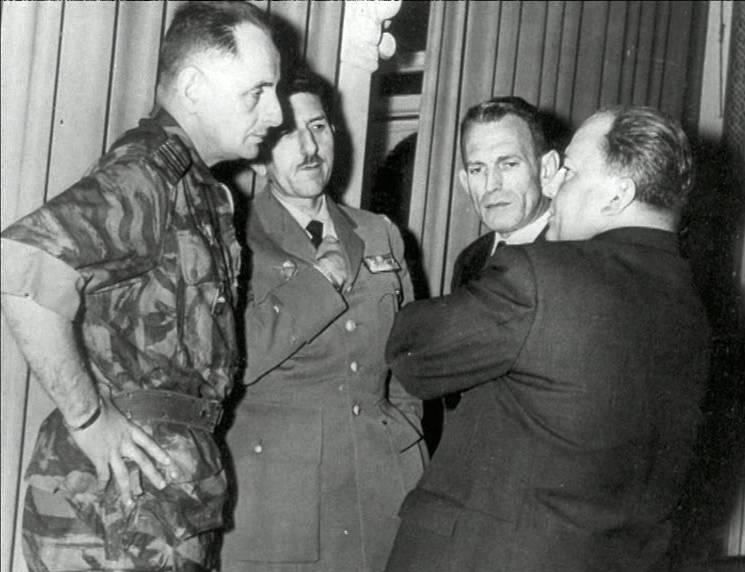 Le Ministre-résidant Robert Lacoste Janvier 1957