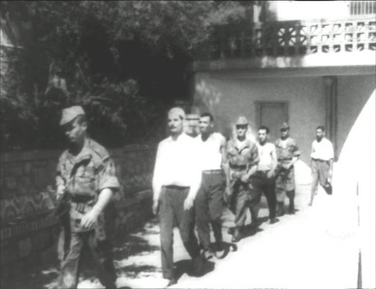 Les paras dans Alger en 1957