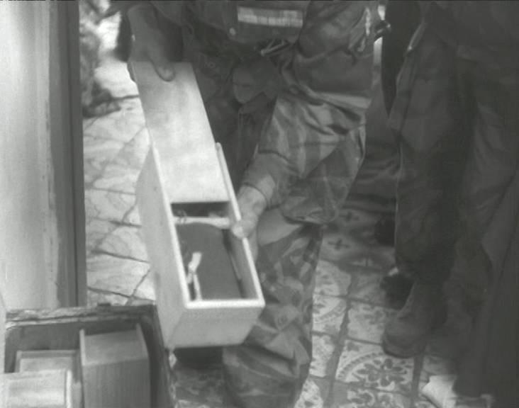 Alger les bombes sont récupérées 1957
