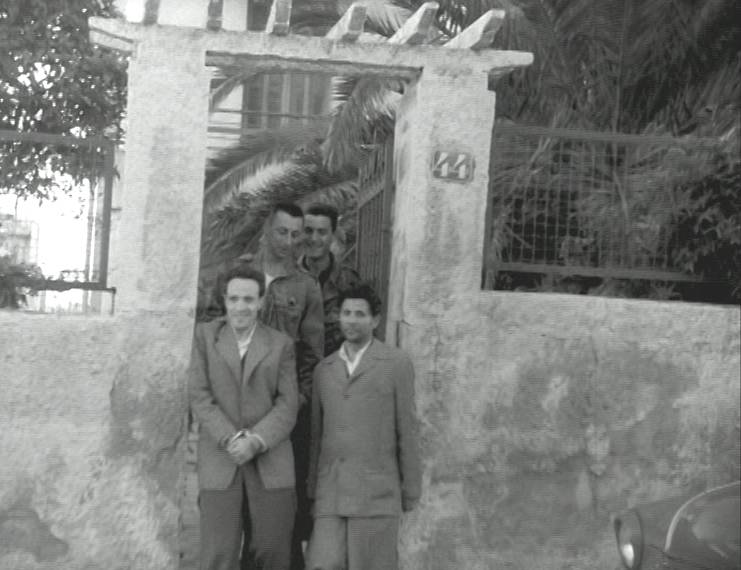 Alger arrestation de Ben M'Hidi  1957