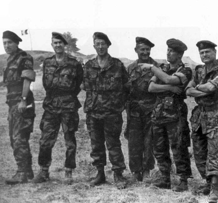 Alger Massu et ses colonels