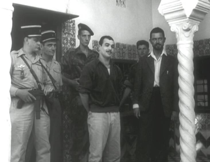 Alger Arrestation Yacef Saadi