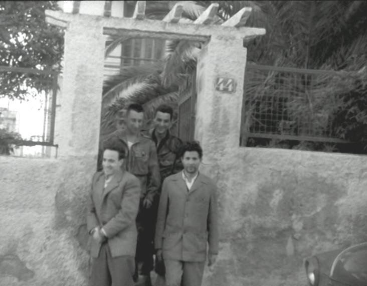 alger 1957 arrestation Lardi Ben M'Hidi